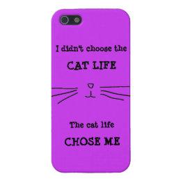 """""""CAT LIFE"""" iPhone Case"""