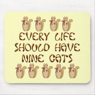 Cat Life Mouse Mat
