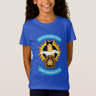 """Cat/Lion """"How You See Me"""" Kids Color T-Shirt"""