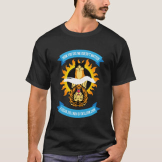 """Cat/Lion """"How You See Me"""" Mens Color T-Shirt"""