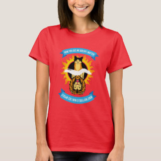 """Cat/Lion """"How You See Me"""" Womens T-Shirt"""