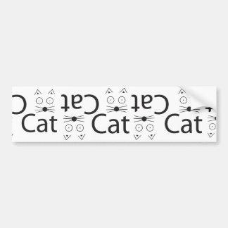 CAT Logo Bumper Sticker