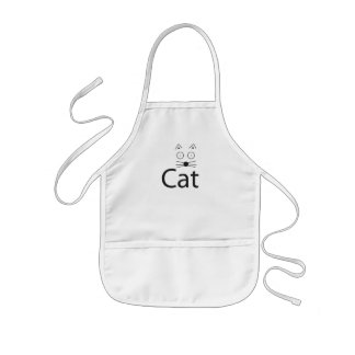 CAT Logo Kids' Apron