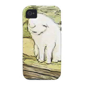 Cat Looking Into Pool iPhone 4/4S Covers