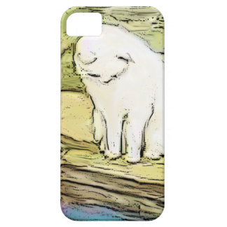 Cat Looking Into Pool iPhone 5 Covers