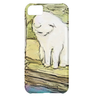 Cat Looking Into Pool iPhone 5C Case