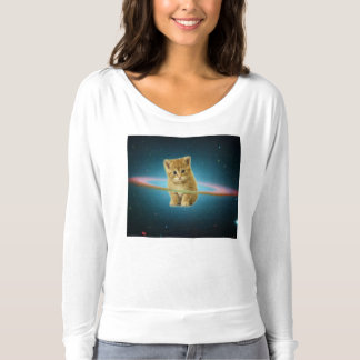 Cat lost in space t-shirt