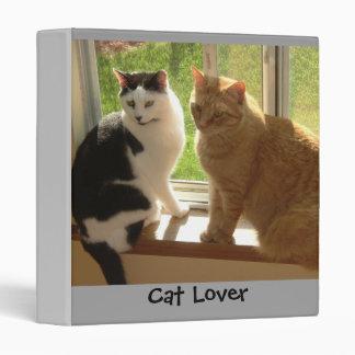 Cat Love 3 Ring Binder