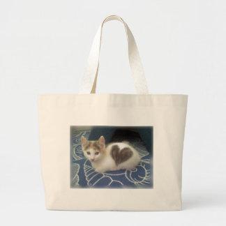 CAT LOVE TOTE BAGS
