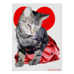 "Cat ""Love Bug"" poster"