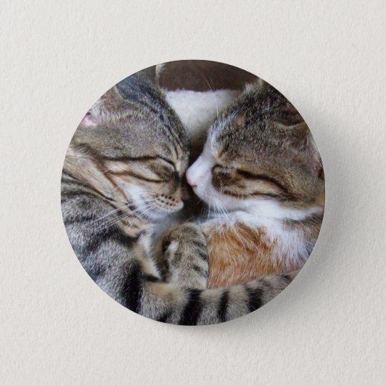 Cat Love Button