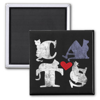 'Cat Love' Magnet