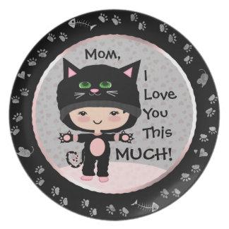 Cat Love Plate