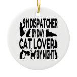 Cat Lover 911 Dispatcher Christmas Tree Ornament