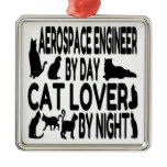 Cat Lover Aerospace Engineer Christmas Tree Ornaments