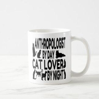 Cat Lover Anthropologist Coffee Mug