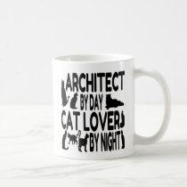 Cat Lover Architect Coffee Mug