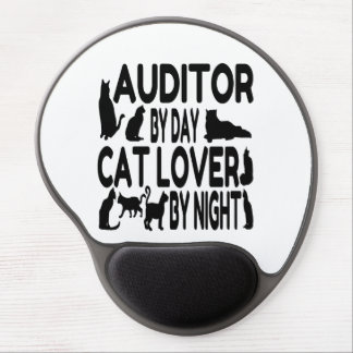 Cat Lover Auditor Gel Mouse Pad