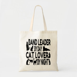 Cat Lover Band Leader Tote Bag