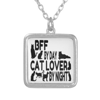 Cat Lover BFF Necklace