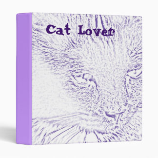 Cat Lover Binder