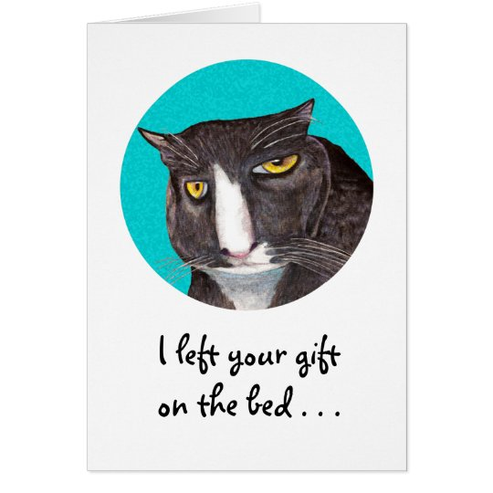 Cat Lover Birthday Greeting Card