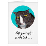 Cat Lover Birthday Greeting Greeting Card