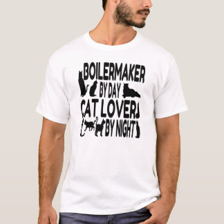 Cat Lover Boilermaker T-Shirt