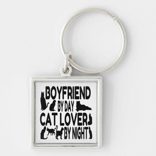 Cat Lover Boyfriend Keychain