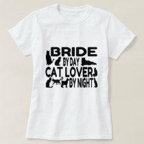 Cat Lover Bride T-Shirt
