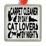 Cat Lover Carpet Cleaner Christmas Tree Ornaments