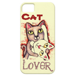 Cat Lover Case-Mate iPhone 5 Barely There Case iPhone 5 Cases