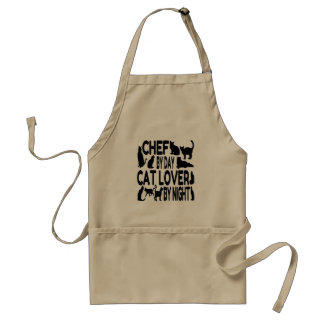 Cat Lover Chef Adult Apron