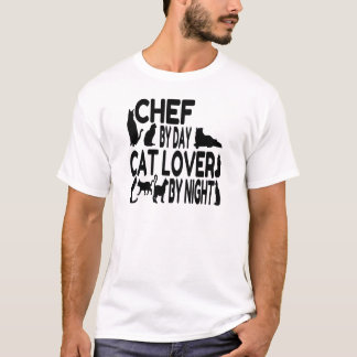 Cat Lover Chef T-Shirt