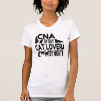 Cat Lover CNA T-Shirt