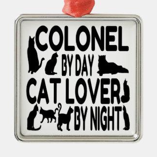Cat Lover Colonel Ornament