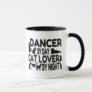 Cat Lover Dancer Mug