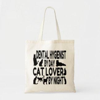 Cat Lover Dental Hygienist Tote Bag