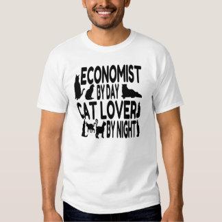 Cat Lover Economist Tee Shirt