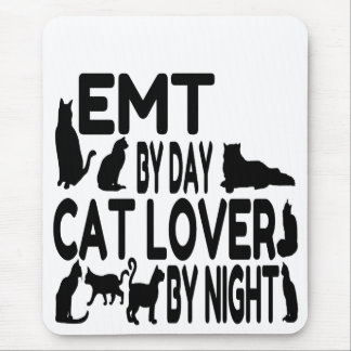 Cat Lover EMT Mouse Pad