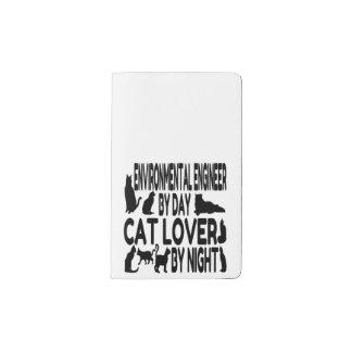 Cat Lover Environmental Engineer Pocket Moleskine Notebook