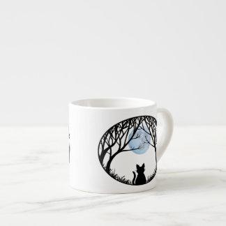 Cat Lover Espresso Cup Fat Cat Cups Mug Cat Gift