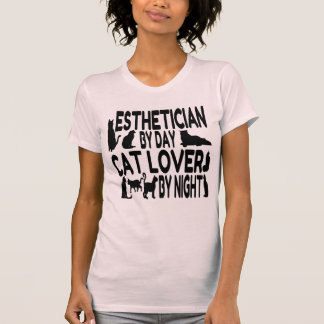 Cat Lover Esthetician T-Shirt