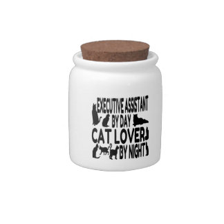 Cat Lover Executive Assistant Candy Jars