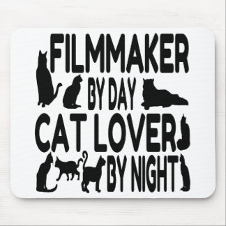 Cat Lover Filmmaker Mouse Pad