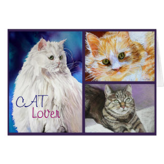 CAT Lover Fine Art Notecards Stationery Note Card