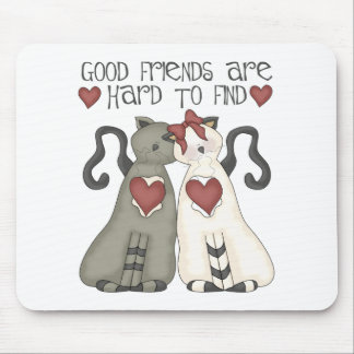 Cat Lover Gift For Friend Mouse Pad