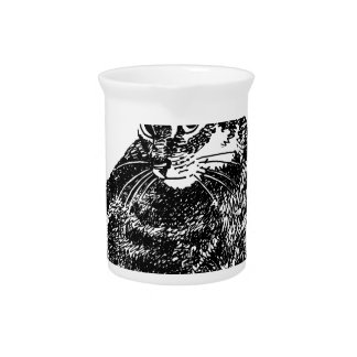 Cat Lover Gifts.jpg Drink Pitcher