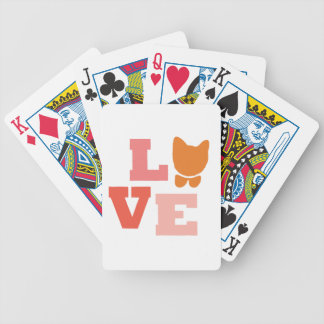 Cat Lover Gifts Bicycle Playing Cards