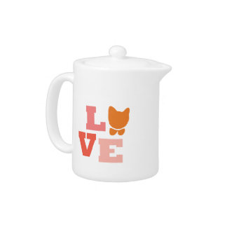 Cat Lover Gifts Teapot